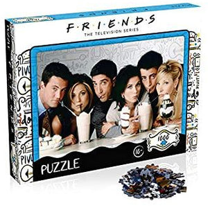 FRIENDS 1000PC PUZZLE MILKSHAKES