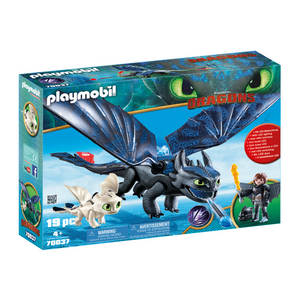 PLAYMOBIL HOW TO TRAIN YOUR DRAGON - HICCUP & TOOTHLESS
