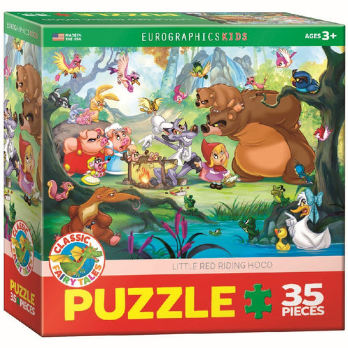 LITTLE RED RIDING HOOD JIGSAW PUZZLE