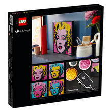 Load image into Gallery viewer, LEGO ANDY WARHOLS MARILYN MONROE