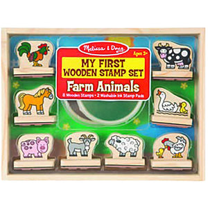 MY FIRST STAMP SET - FARM ANIMALS
