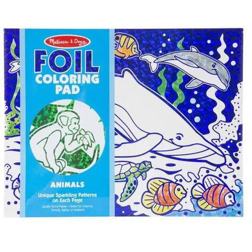 MANDD FOIL COLOURING PAD