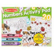 MANDD NUMBERS ACTIVITY PAD
