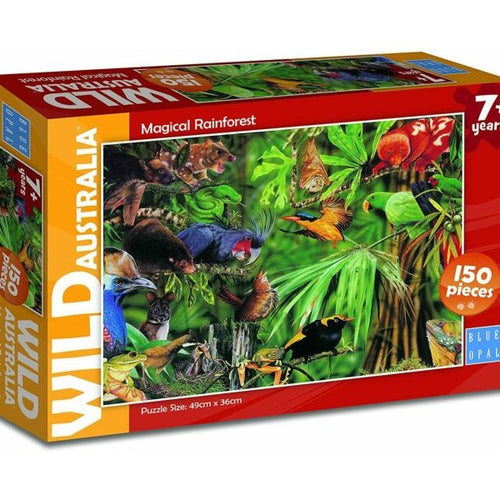 WILD AUSTRALIA MAGICAL RAINFOREST JIGSAW