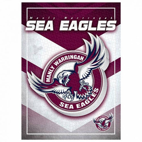 MANLY SEA EAGLES LOGO PUZZLE