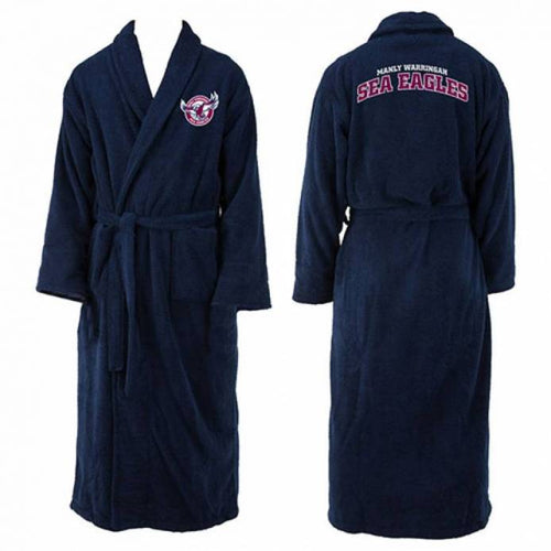MANLY SEA EAGLES  LONG SLEEVE ROBE