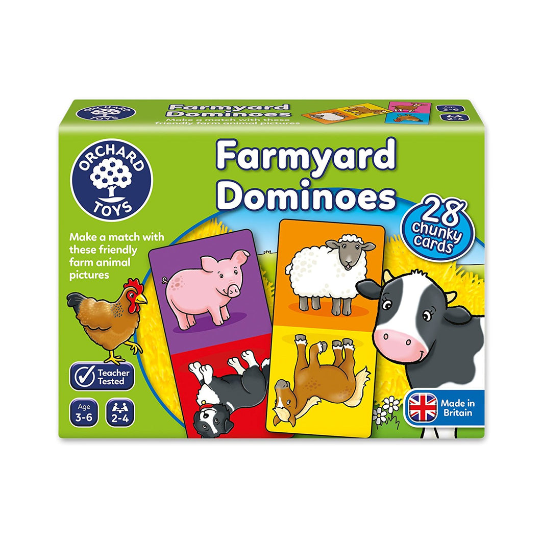 ORCHARD GAME- FARMYARD DOMINOES