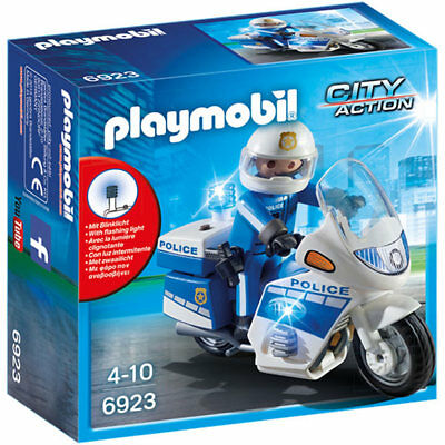 PLAYMOBIL POLICE BIKE