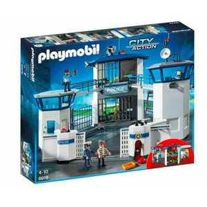 PLAYMOBIL POLICE HEADQUARTERS & PRISON
