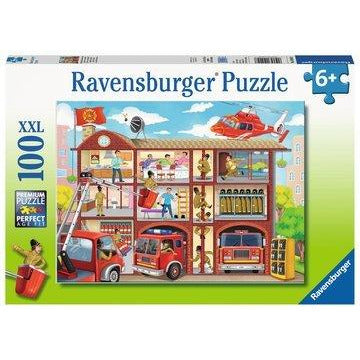 RAVENSBURGER PUZZLE FIREHOUSE FRENZY 100PIECE
