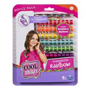 COOL MAKER KUMI KREATOR FASHION PACK REFILLS RAINBOW