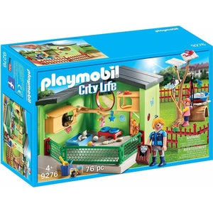 PLAYMOBIL CITY LIFE - PURRFECT STAY CAT BOARDING