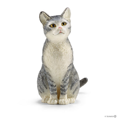 SCHLEICH- CAT SITTING
