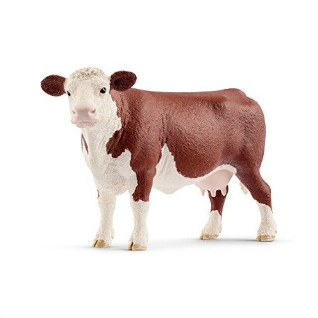 SCHLEICH- HEREFORD COW