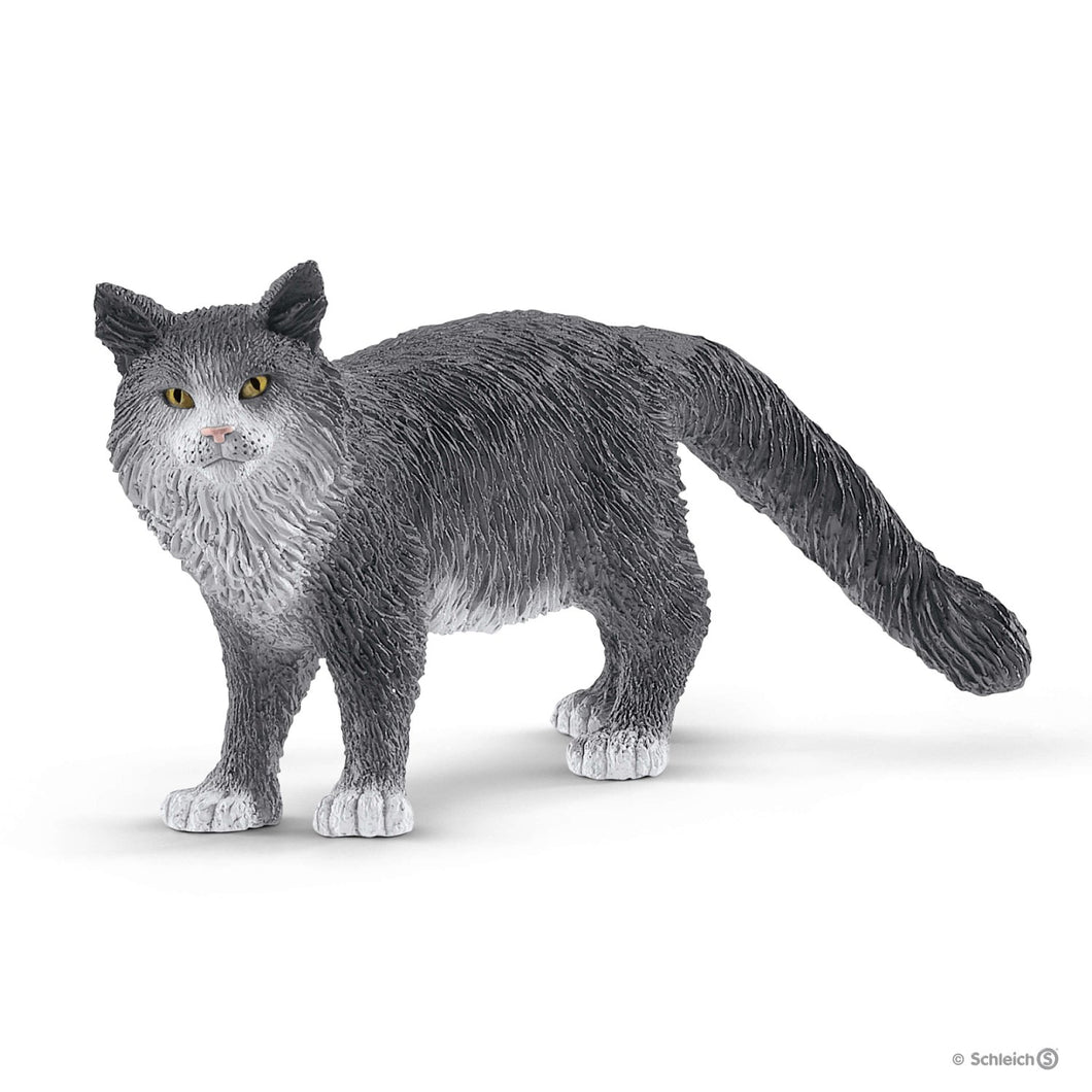 SCHLEICH- MAIN COON CAT