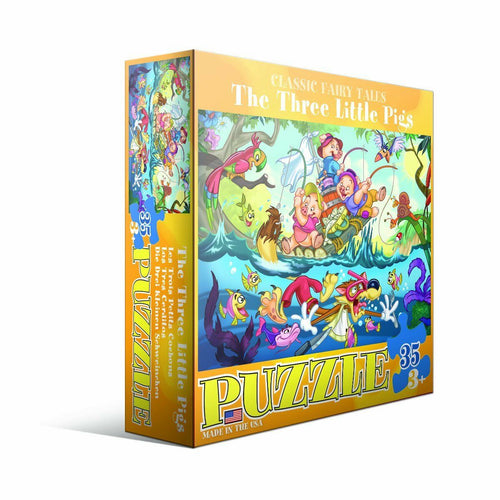 THREE LITTLE PIGS JIGSAW PUZZLE