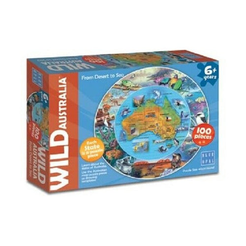 WILD AUSTRALIA FROM DESERT TO SEA PUZZLE