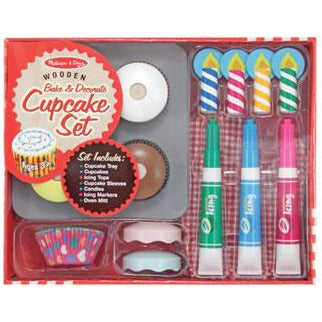 M&D BAKE AND DECORATE CUPCAKE SET
