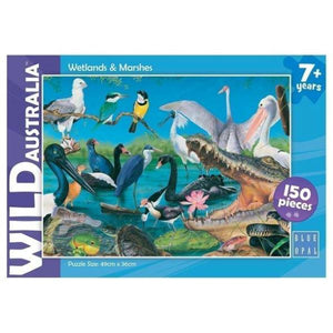 WILD AUSTRALIA WETLAND AND MARSHES PUZZLE