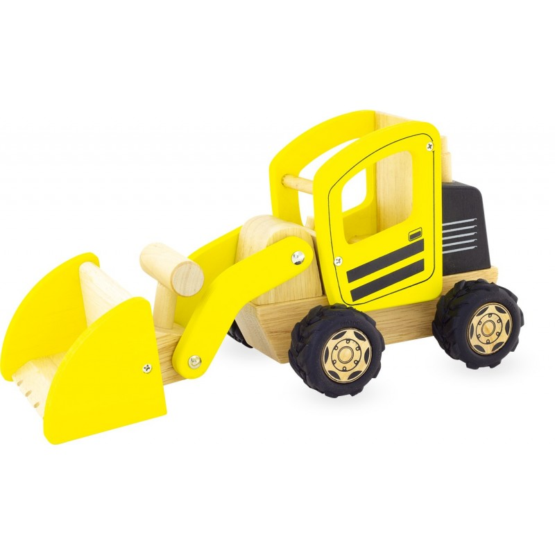 WOODEN CONSTRUCTION FRONT END LOADER