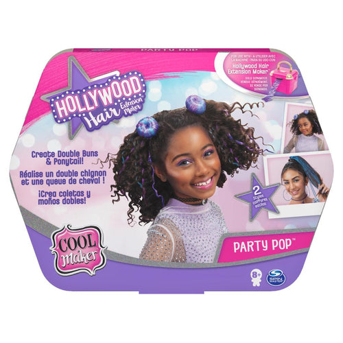 COOL MAKER HOLLYWOOD HAIR EXTENSION MAKER - PARTY POP