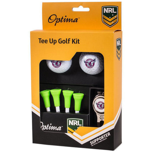 Manly Sea Eagles Tee Up Golf Kit