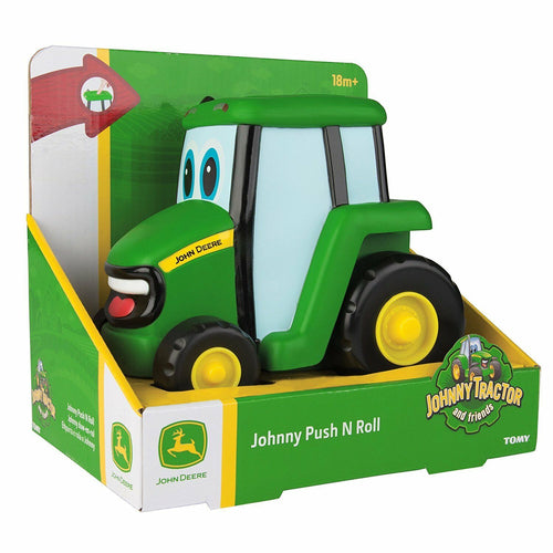 JOHN DEERE JOHNNY TRACTOR PUSH N ROLL