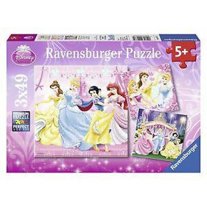 RAVENSBURGER - DISNEY SNOW WHITE 3X49PC
