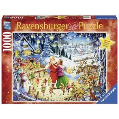 RAVENSBURGER - SANTAS CHRISTMAS PARTY 1000PC