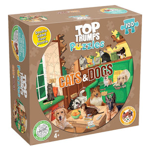 TT PUZZLES CATS & DOGS 100 PC