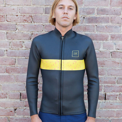 Ours Retro Surf Wetsuit Jacket 2mm