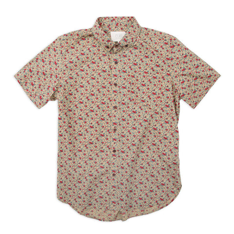 Ours Short Nat Floral Shirt