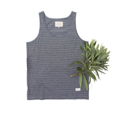 Ours Retro Surf Indigo Tank Top
