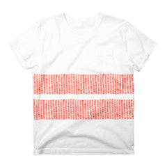 Ours Tick Stripe Tee