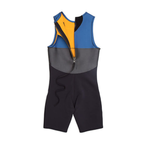Ours Retro Color Block Surf Wetsuit 2mm Short John
