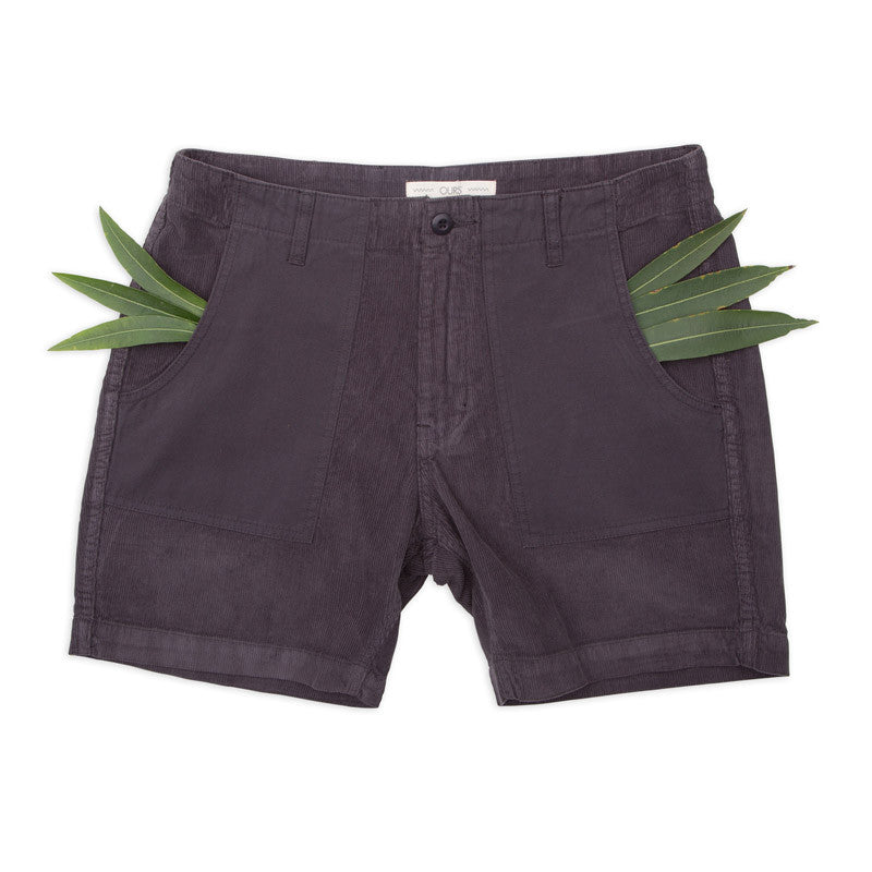 Ours Garment Dyed Corduroy Walk Shorts