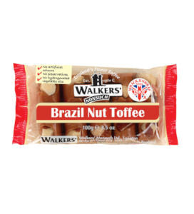 Walkers Brazil nut Toffee (100g)