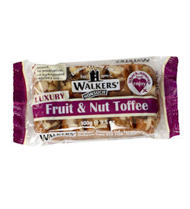 Walkers Fruit & Nut  Toffee (100g)