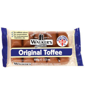 Walkers Original Toffee (100g)