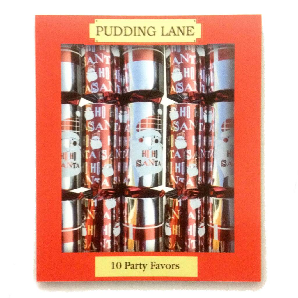 Christmas Crackers x10 by Pudding Lane Santa Ho Ho Ho! Design
