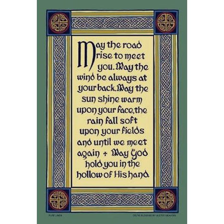 Ulster Weaver Irish Blessing cotton tea towel