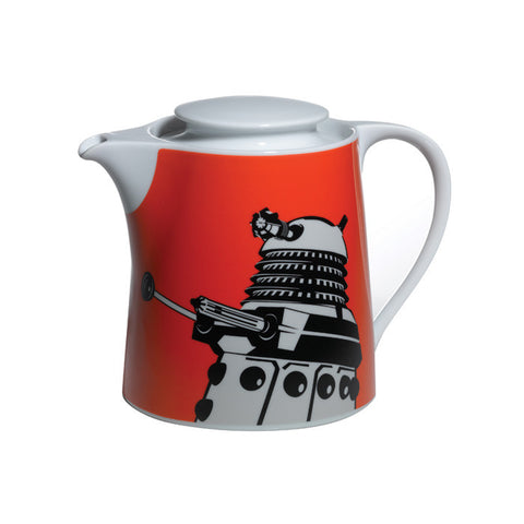 "Dr Who ""Dalek"" ORANGE Teapot (6 cup) !!! SALE !!!"