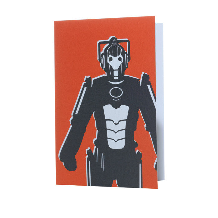 "Dr. Who ""Cyberman"" red card"