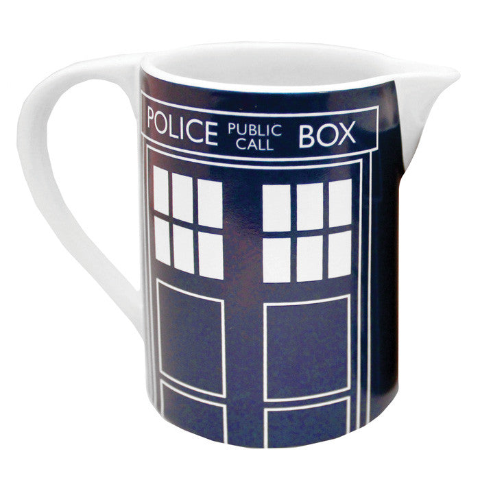 "Dr. Who ""Tardis"" Ceramic Milk Jug"