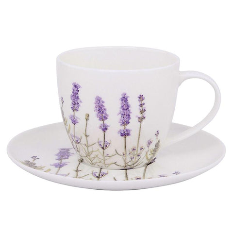 "Ashdene ""I Love Lavender"" Cup and Saucer"