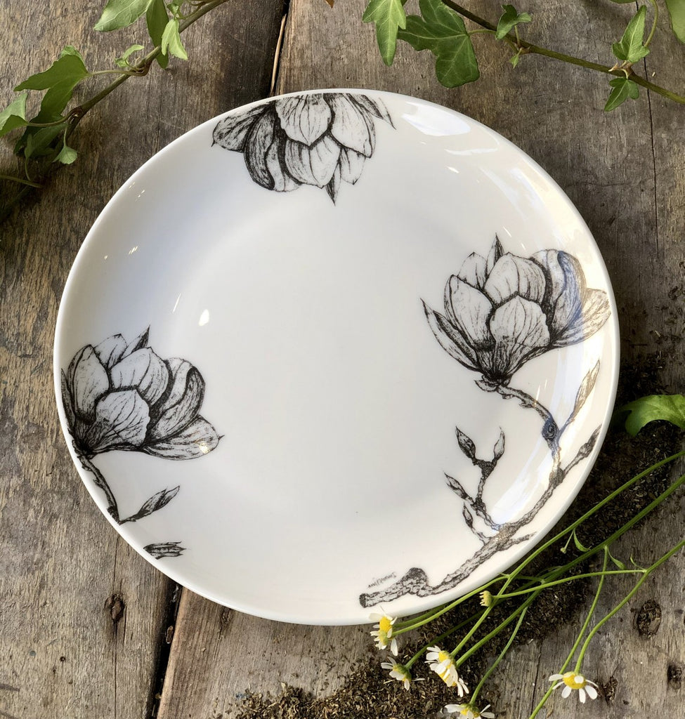 Sarah Horne Fine Bone China Cake Plate