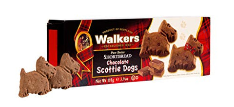 Walkers chocolate Scottie Dogs (110g)
