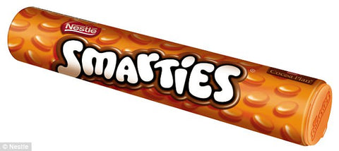 Smarties Orange Tube