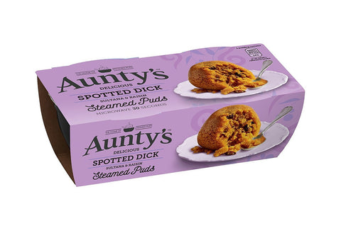 Aunty's Spotted Dick 2PK