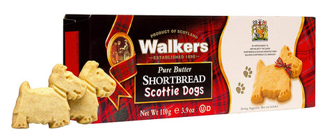 Walkers Pure Butter Shortbread Scottie Dogs (110g)